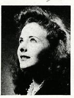 JEANNE CRAIN  High School Yearbook SENIOR Year 1942 Inglewood HS, Inglewood, CA