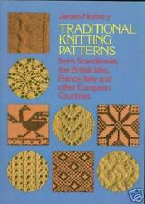 263 Traditional European Knitting Patterns, NEW PB