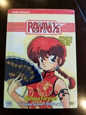 Ranma 1/2: Ranma Forever - Box Set (DVD, 2003, 5-Disc Set, Season 7) NEW RARE