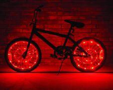 Brightz, Ltd. Wheel Brightz LED Bicycle Light, Red Bicycle Glow Waterproof Tube