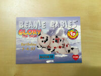 Lot of 3 1998 Ty Beanie Babies cards. MINT! Fetch, Clubby, Glory rare.