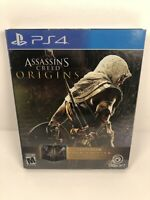 Assassin's Creed: Origins SteelBook Gold Edition (Sony PlayStation 4, 2017) CIB