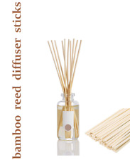 BAMBOO REED DIFFUSER STICKS ~Refill  Pack of 20 Natural Sticks 3mm X 20cm