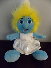"""Build A Bear 16"""" Plush Smurfette from Smurfs Guc"""