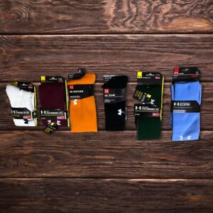 UNDER ARMOUR PERFORMANCE OVER THE CALF TEAM SOCKS.  CHOOSE COLOR AND SIZE