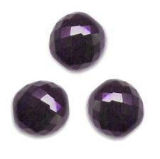 5 Perles Facettes cristal de boheme 12mm - PURPLE VELVET