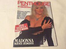 PENTHOUSE 122 MAYO 1988 MADONNA 13 PAGES 20 PHOTOS Magazine Spanish VINTAGE