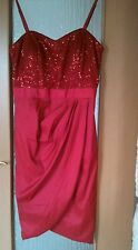 Rotes neues Cocktail-Kleid in Gr. 44 v. Apart