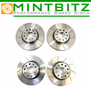 PEUGEOT 206 GTi 180 2.0 GROOVED PERFORMANCE BRAKE DISCS FRONT & REAR