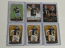 Johnny Manziel 6 Rookie Card Lot RC Browns Bowman, Topps, R&S