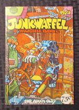 1971 JUNKWAFFEL #1 FN+ 6.5 Vaughn Bode 2nd Print Mint Underground Comix