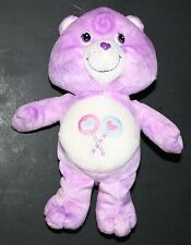 Share Bear Care Bear Purple Heart Lollipop Symbol 10""