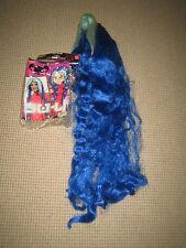 Blue long wig/facy dress