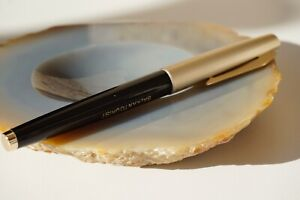 14k.Gold NIB Pilot Japan Fountain Pen NAMIKI IJ.16 Beige Chrome Black Filler,NEW