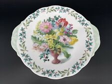 Queen Anne Royal Academy Cake Plate Bone China England