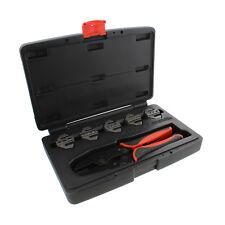 ABN Quick-Change Ratchet Crimper Pliers & Die 6-Piece Crimping Tool Kit Set
