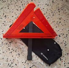 TOYOTA OEM JDM Warning Reflector Emergency Triangle Rare AE100 AE101 EL41 EL53