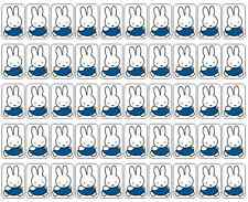 """50 Miffy Bunny Envelope Seals / Labels / Stickers, 1"""" x 1.5"""""""
