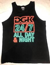 DGK Tank Top~24/7 All Day & Night~Men's~Size Large