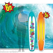 6ft tropical surf vague décoration murale & 5ft planche de surf luau fête scène setter