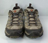 Merrell Womens Moab Hiking Shoes Dusty Olive J88796 Waterproof Lace Up 9 M