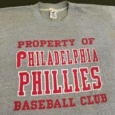 Vintage 80s Property Of Philadelphia Phillies Baseball Club Shirt MLB Champion
