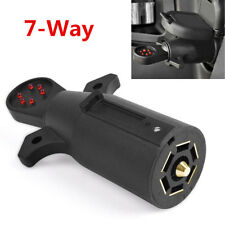1X 12V 7-Way RV Blade Wiring Circuit Tester Trailer Hitch LED Connector Plug Pin