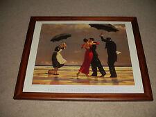 "Jack Vettriano - ""The Singing Butler"" Portland Gallery Framed Art Print"
