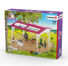 Schleich 42389 Horse Riding School with Riders and Horses (Horse Club) Playset