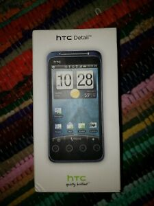 HTC detail cellular phone in box