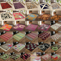 NEW SMALL LARGE ALPHA RUGS MULTI COLOUR RUGS ON CLEARANCE SALE FREE UK DELIVERY*