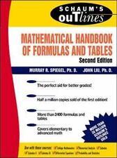 Schaum's Mathematical Handbook of Formulas and Tables by Spiegel, Murray R