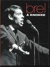 DVD ALL ZONES DIGIPACK--JACQUES BREL--LIVE A KNOKKE EN 1963