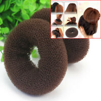 2Pcs Girls Magic Donut Hair Bun Ring Styling Maker Beauty Tool Scrunchie  ZSE