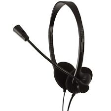 LogiLink Stereo Headset Kopfhörer + Mikrofon 3,5mm Klinke für PC Computer Laptop