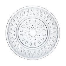 La Rochère  Lyonnais | Assiette plate ronde en verre Ø 26cm - Lot de 6