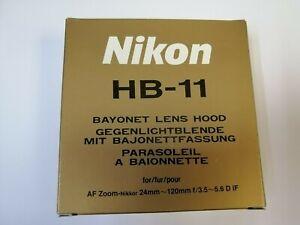 Original Neu Nikon HB-11 Sonnenblende für AF 24-120mm f/3.5-5.6 D IF
