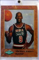 Rare: 3rd Annual Supershow Promo Card Michael Jordan #NNO, USA, Chicago Bulls