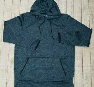 Under Armour Mens Cold Gear Hoodie Sweatshirt Pullover Blue Size XXLT 2XLT