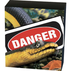 💰2013💥Deadly and Dangerous💥Yellow-Bellied Sea Snake- OUTER SHIPPER COVER ONLY