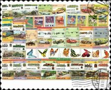 More details for saint lucia : 100 different stamps collection