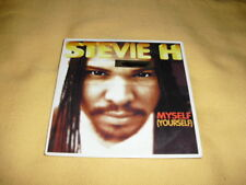 Stevie H ‎– Myself (Yourself) CD Single