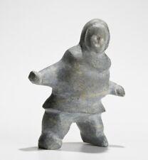 Inuit Eskimo art carving Tuna Iquliq (Baker Lake) standing figure