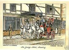 (60162) Postcard: George Hotel, Reading 1784