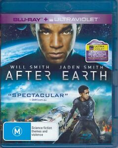 After Earth Will Smith Blu-Ray Movie FREE POSTAGE!