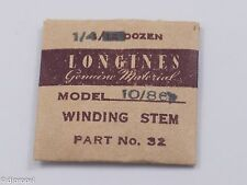 Longines Genuine Material Stem Part 32 for Longines Cal. 10/86