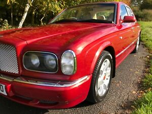 Bentley Arnage 6.75 Turbo Red with cream leather 2001 66,000 miles