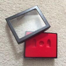 """Box (of 3) 3 x 4 x 3/4"""" Display Cases for Relic Civil War Bullets Free Shipping"""