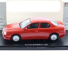 Alfa Romeo 156 Red Legend Series Universal Hobbies 1:43 Scale Model Car 4668