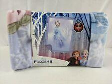 "New listing Disney Elsa Frozen Ii No Sew Fleece Throw Blanket Kit 43""x55"" New Ez Craft F1"